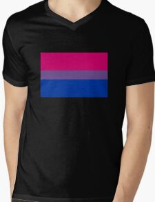Bisexual Pride Flag Mens V-Neck T-Shirt