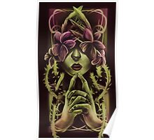 Woman In Vines Poster
