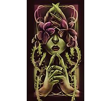 Woman In Vines Photographic Print