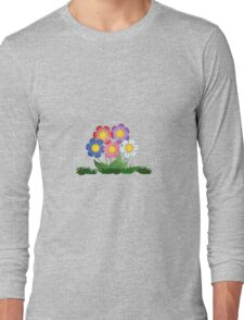Flowers Art and paintings Long Sleeve T-Shirt