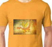 Flying funny Dragon art Unisex T-Shirt