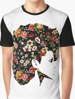 Floral Fro Graphic T-Shirt