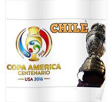 Chile Winner Copa America 2016 Poster