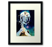 Merlin in the Cosmos Framed Print