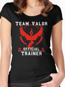 Team Valor Official Trainer Women's Fitted Scoop T-Shirt