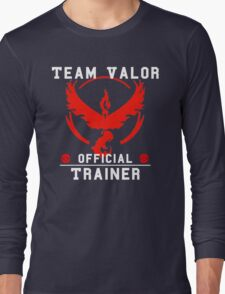 Team Valor Official Trainer Long Sleeve T-Shirt