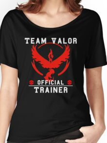 Team Valor Official Trainer Women's Relaxed Fit T-Shirt