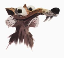 ICE AGE - Scrat 's face One Piece - Short Sleeve