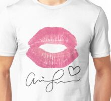Lip Print Signature Unisex T-Shirt