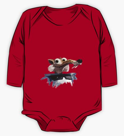 ICE AGE - Scrat 's spacesuit One Piece - Long Sleeve