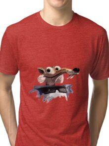 ICE AGE - Scrat 's spacesuit Tri-blend T-Shirt