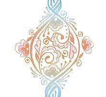 Flourish & Swirl by katherinepaulin