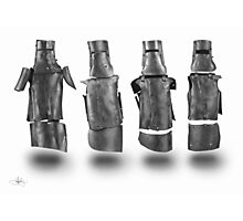 Kelly Gang Armour drawing Photographic Print