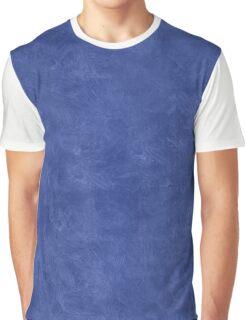 Deep Ultramarine Oil Pastel Color Accent Graphic T-Shirt