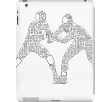 Wrestlers iPad Case/Skin
