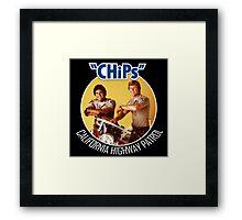 CHIPS, TV SERIES Framed Print