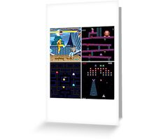 Arcade games Greeting Card