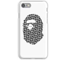 A Bathing Ape BAPE x Palace Skateboards (Black & White) iPhone Case/Skin