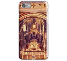 St Peter's Basilica Dome Interior Vatican Italy iPhone Case/Skin