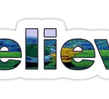 Believe - Pokemon Sticker