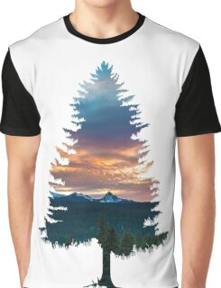 Spruce Tree Graphic T-Shirt
