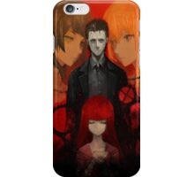 Steins;Gate 0 (Official Poster/Phone Case) iPhone Case/Skin