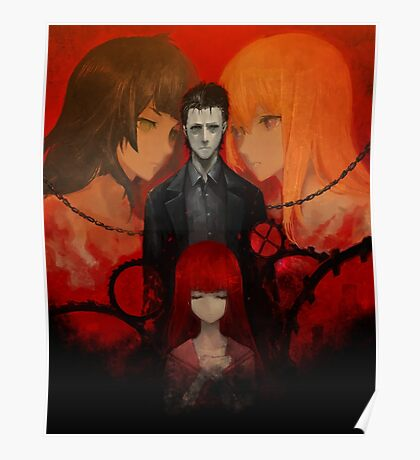 Steins;Gate 0 (Official Poster/Phone Case) Poster