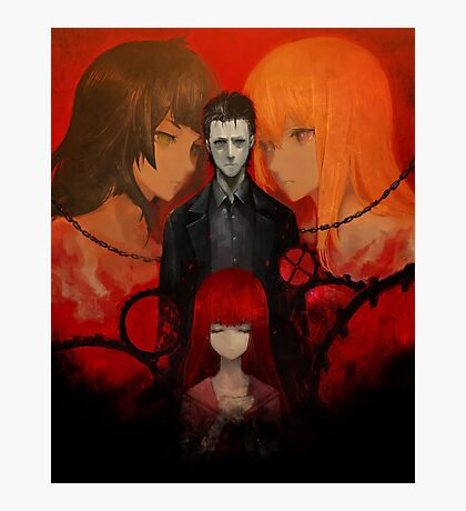 Steins;Gate 0 (Official Poster/Phone Case) Photographic Print