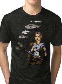 Across the Sky Tri-blend T-Shirt