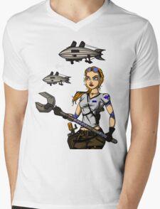 Across the Sky Mens V-Neck T-Shirt