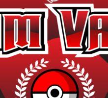 Pokemon Go! Team Valor Sticker