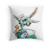 Two-faced B***h Throw Pillow