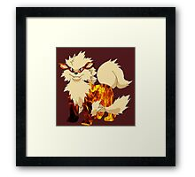 Arcanine-Pokemon Framed Print