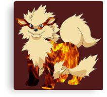 Arcanine-Pokemon Canvas Print