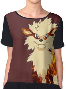 Arcanine-Pokemon Chiffon Top
