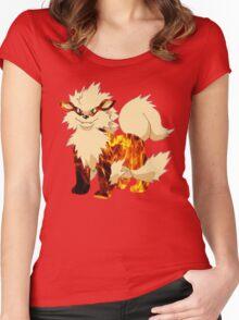 Arcanine-Pokemon Women's Fitted Scoop T-Shirt