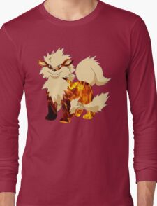 Arcanine-Pokemon Long Sleeve T-Shirt