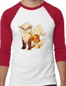 Arcanine-Pokemon Men's Baseball ¾ T-Shirt
