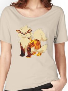 Arcanine-Pokemon Women's Relaxed Fit T-Shirt