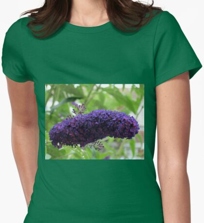 Butterfly Magnet - Buddleja Beauty Womens Fitted T-Shirt