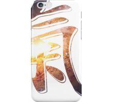 Galaxy of Fire | Chi Symbol | Fresh Universe iPhone Case/Skin