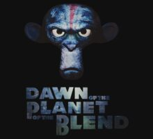 Dawn of the Planet of the Blend One Piece - Short Sleeve