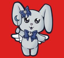 Cutie Magical Blue Bunny Kids Tee