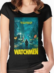 Watchman Women's Fitted Scoop T-Shirt