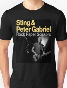 ROCK PAPER SCISSORS TOUR Unisex T-Shirt