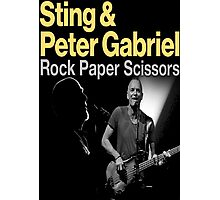 ROCK PAPER SCISSORS TOUR Photographic Print