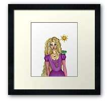 Let Down Your Hair Framed Print