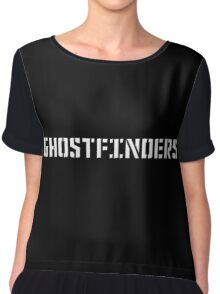 Ghostfinders Chiffon Top