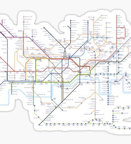 London subway 2016 Sticker