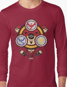 Bad ASH Pokemon Go Valor - Mystic - Instinct Team Shirt  Long Sleeve T-Shirt